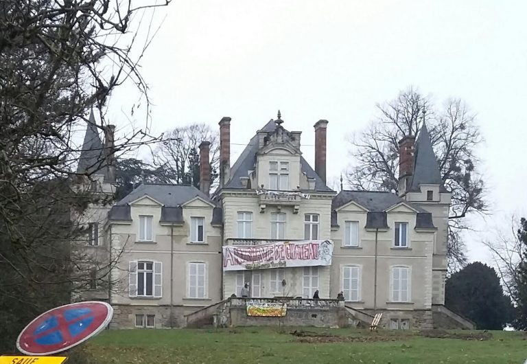 Nantes. Migrants au château du Tertre: l'Université de Nantes recule encore l'expulsion des squatteurs