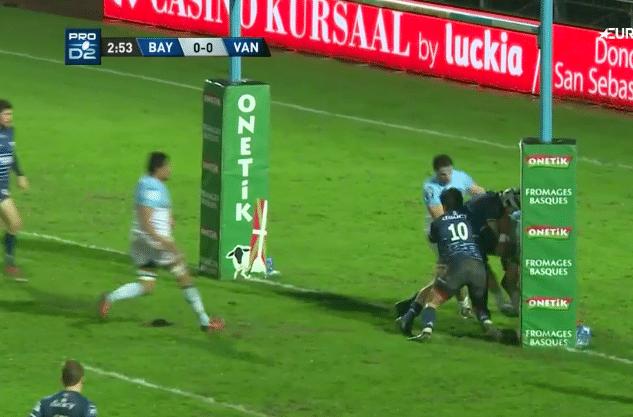 Rugby. Le RC Vannes rentre dans le rang face à Bayonne (34-14)
