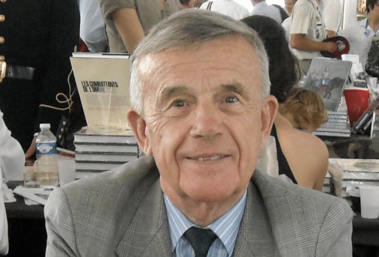 Le Colonel Serge Le Pottier en conférence à Pornichet le 30 janvier