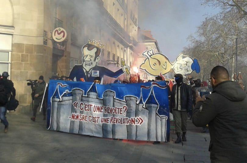 250 manifestants et cinq interpellations : retour sur le