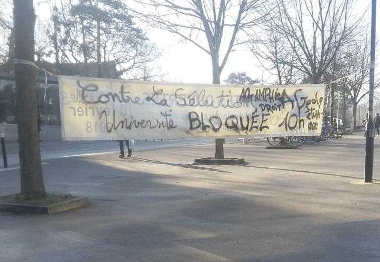 Nantes. Mobilisation étudiante : « Les murs de flics, on va les passer ! »