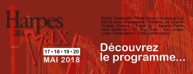 Ancenis (44). Le Festival Harpes au max du 17 au 20 mai