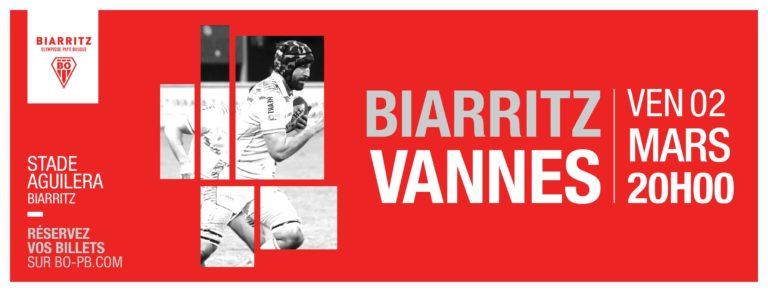 Rugby. Le RC Vannes sans trop de pression à Biarritz