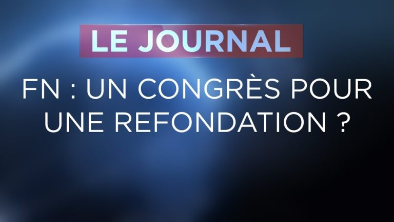 JT. Front national : le congrès de la refondation ?