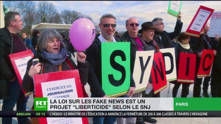 Le Syndicat national des journalistes (SNJ) inquiet de la loi «fake news»