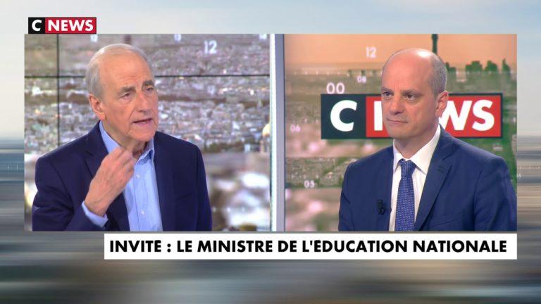 Jean-Michel Blanquer invité de Jean-Pierre Elkabbach