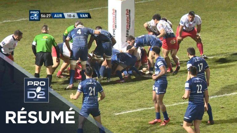 Rugby. Aurillac – Vannes : le résumé en vidéo