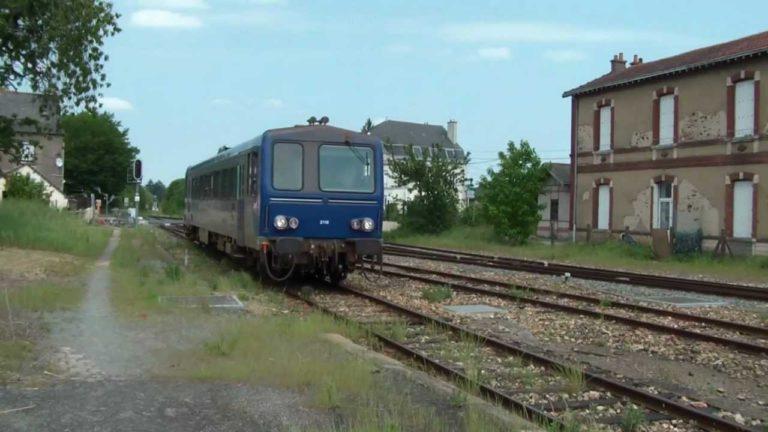 Une mobilisation pour sauver la ligne ferroviaire entre Châteaubriant et Rennes.
