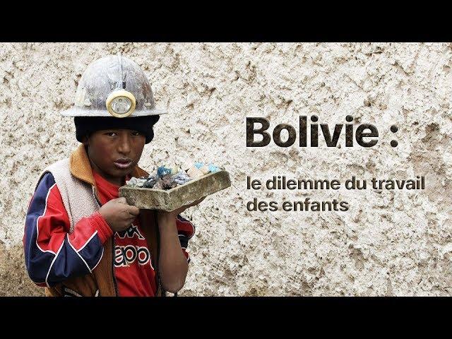 Un reportage choc sur le travail des mineurs en Bolivie