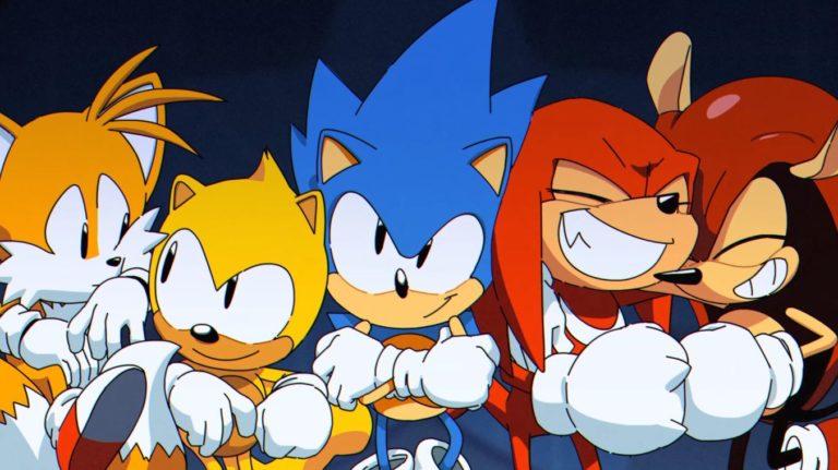 Jeux vidéos. Sonic Mania plus sera disponible en juillet