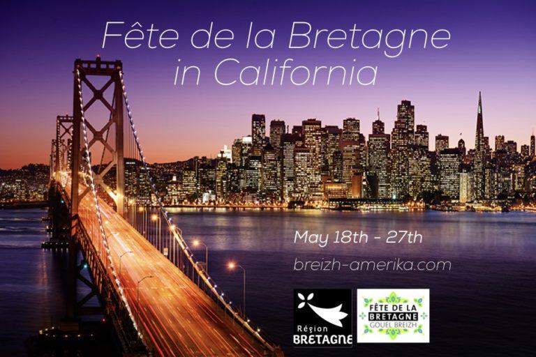La Californie fête la Bretagne du 18 au 27 Mai