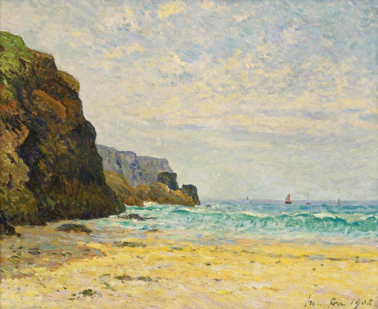 Peinture. Un été avec Maxime Maufra à Saint-Pierre Quiberon