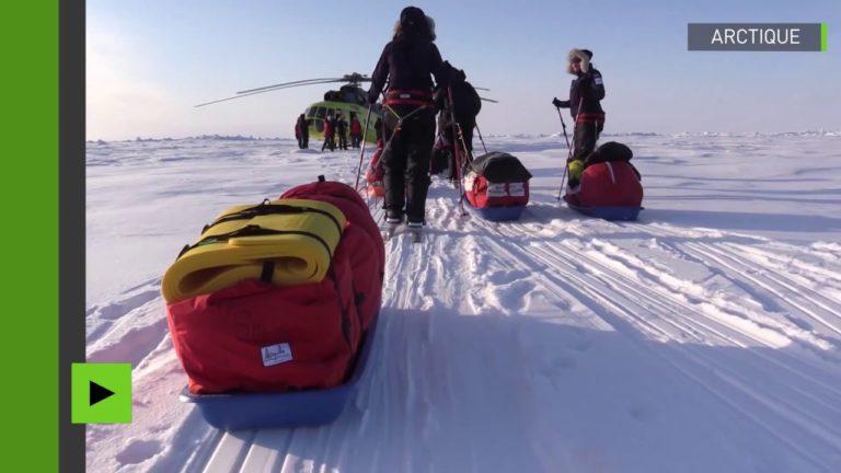 Des femmes à l'assaut au pôle Nord