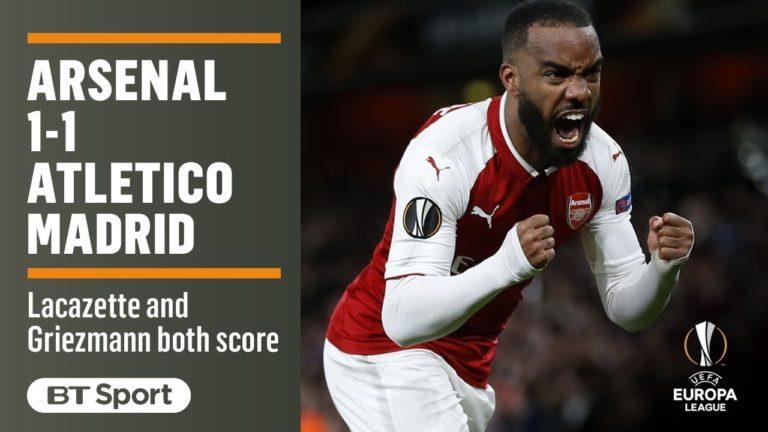 Arsenal – Atletico Madrid (1-1) : le résumé en vidéo