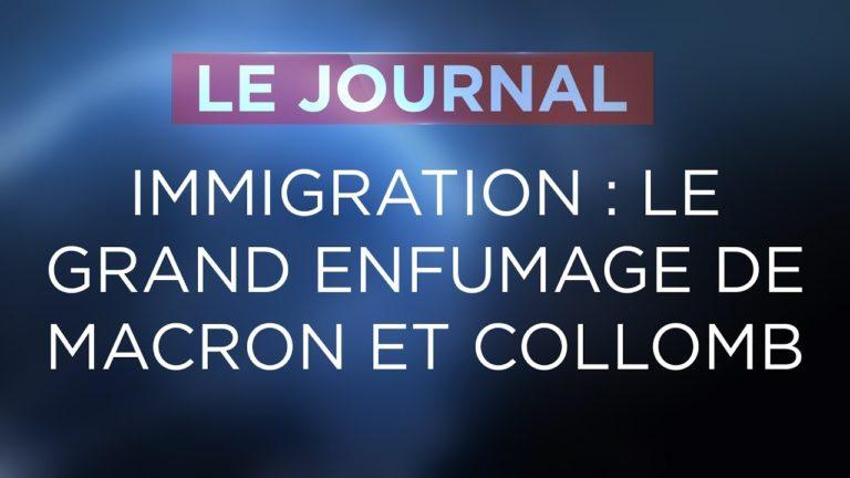 Macron et Collomb sur l'immigration : le grand enfumage
