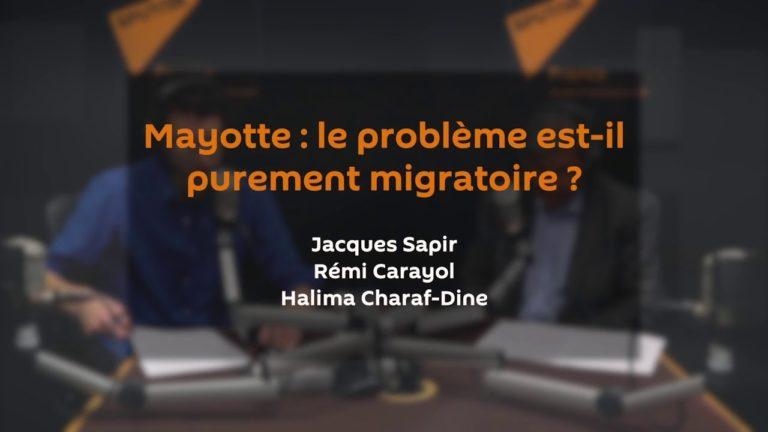 Mayotte : le problème est-il purement migratoire ?