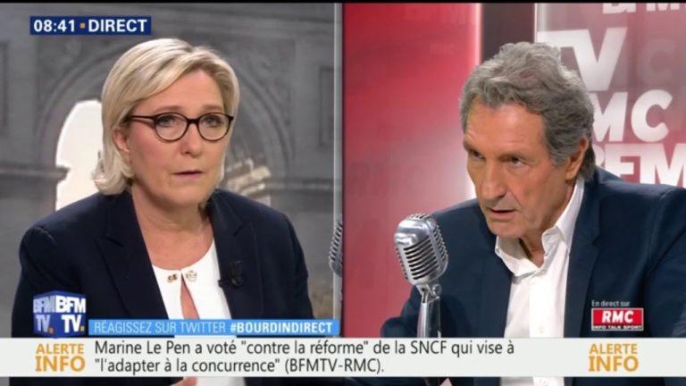 Université. Marine Le Pen dénonce les « milices de gauche »