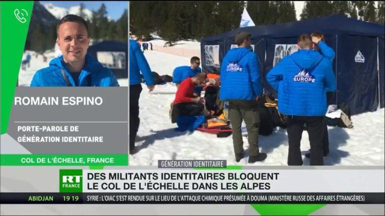 Immigration. Defend Europe bloque la frontière franco-italienne