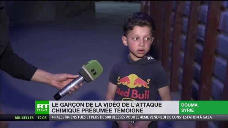Syrie. Hassan Diab, 11 ans, donne sa version de l'attaque chimique présumée à Douma
