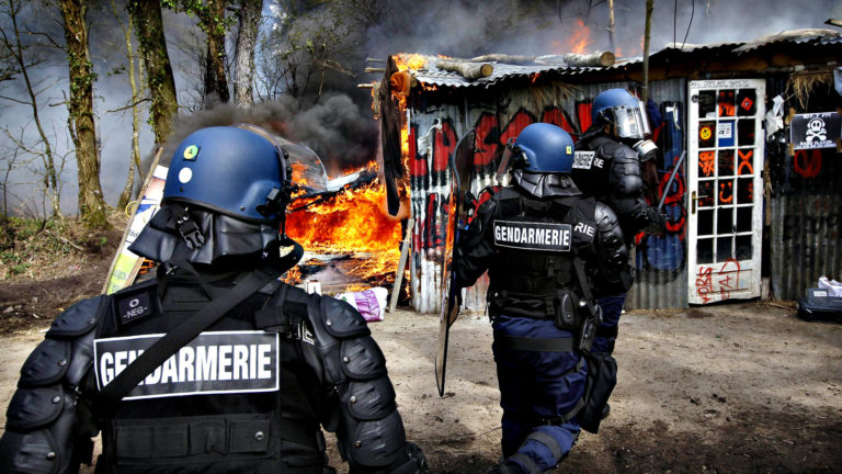 Notre-Dame-des-Landes. Les gendarmes coûtent cher aux contribuables