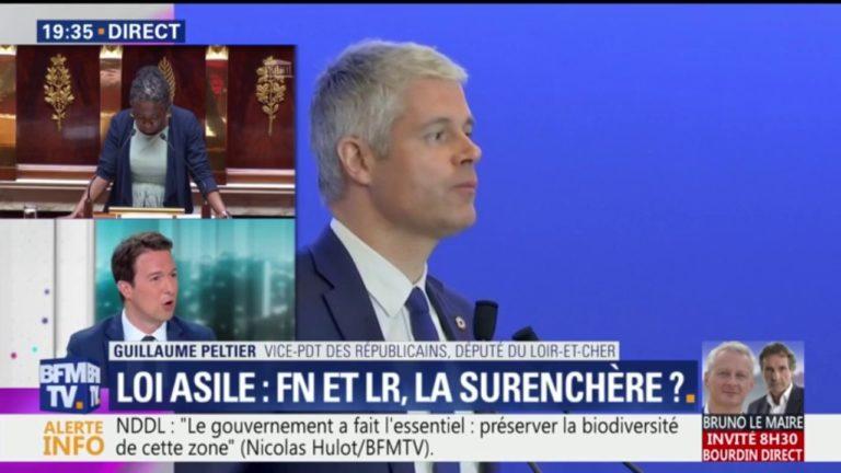 Guillaume Peltier (LR) : « expulser les 30000 clandestins présents sur le territoire »
