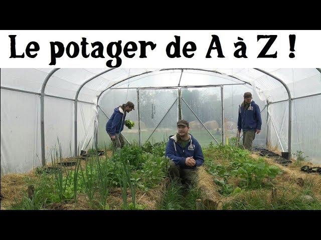 Le Potager de A à Z : en route vers l'autonomie alimentaire