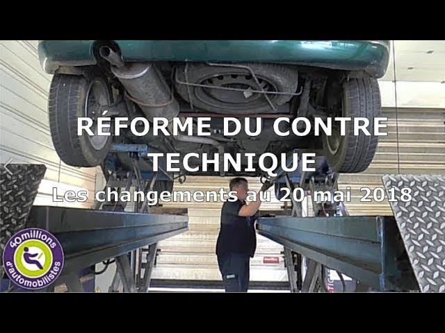 Réforme du contrôle technique : les changements au 20 mai 2018