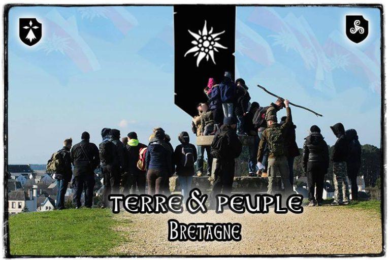 Le mouvement Terre et Peuple est de retour en Bretagne