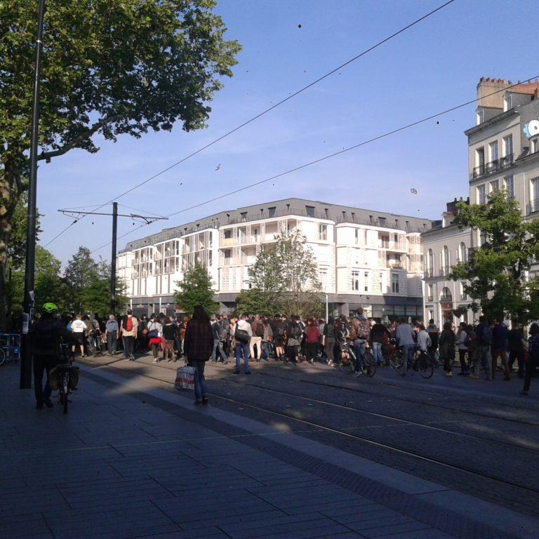 Nantes: la manif en soutien aux zadistes a fait flop, un engin explosif retrouvé sur la ZAD