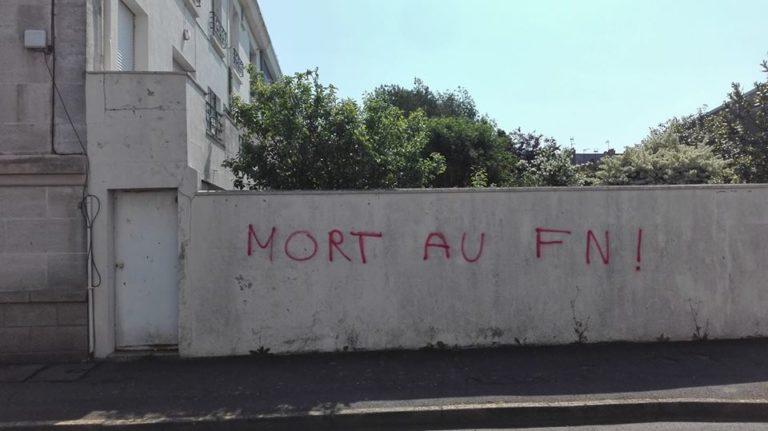 Saint-Nazaire. « Mort au FN ». Un élu Front national menacé de mort devant chez lui