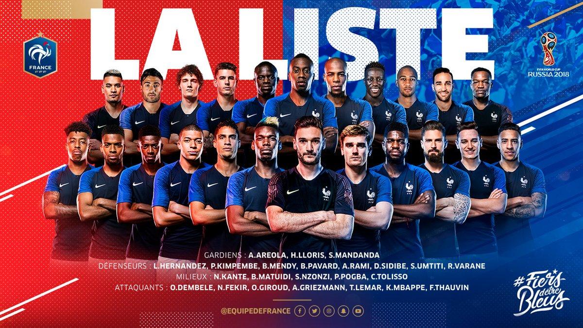 Coupe du monde les blancs minoritaires en quipe de france de football - Coupe de france l equipe ...