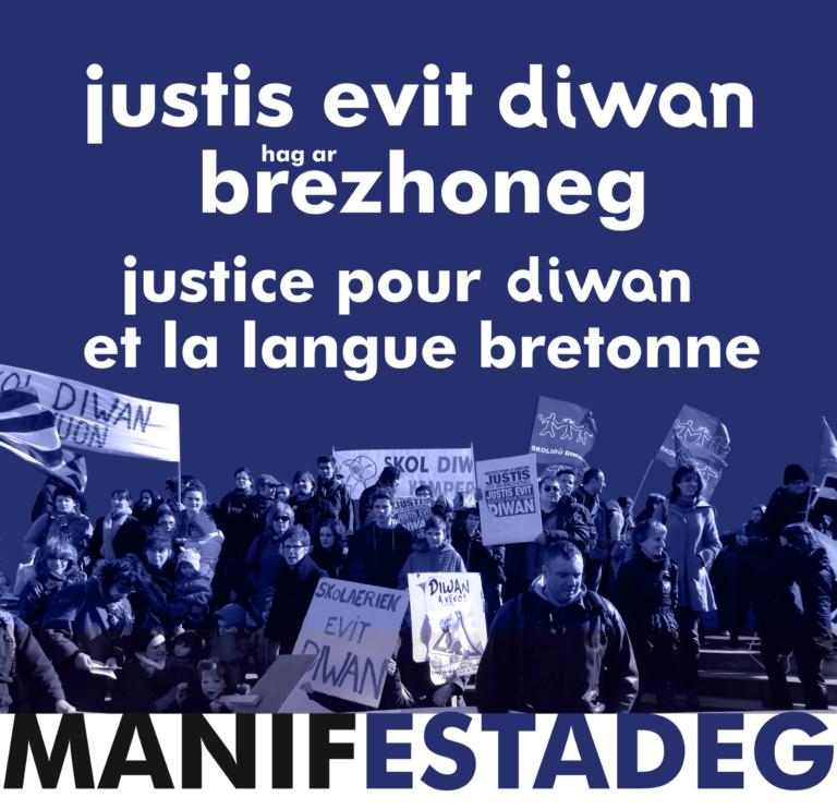 Brest. « Sans langue bretonne, pas de Bretagne » : retour sur la mobilisation pour Diwan [Vidéo]