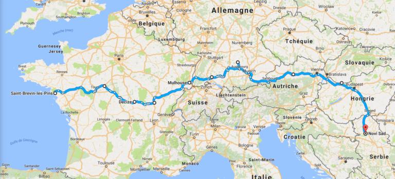 Et si vous traversiez l'Europe à vélo, de la Bretagne à la Roumanie ?