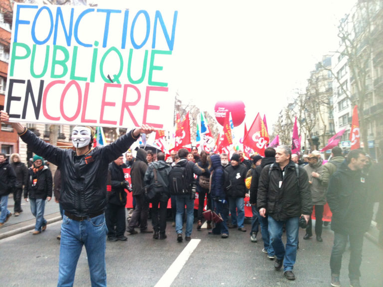Nantes: pourquoi la manif des fonctionnaires a-t-elle été si calme?
