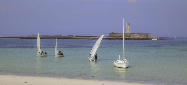 Fort Cigogne (archipel des Glénan): les accros des jeux de hasard vont venir à l'aide des apprentis navigateurs