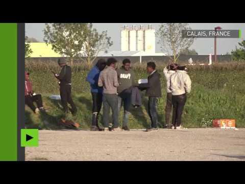 Des migrants «particulièrement violents» à Calais.