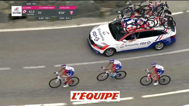 Giro. Victoire de Nieve, Froome vole vers la victoire