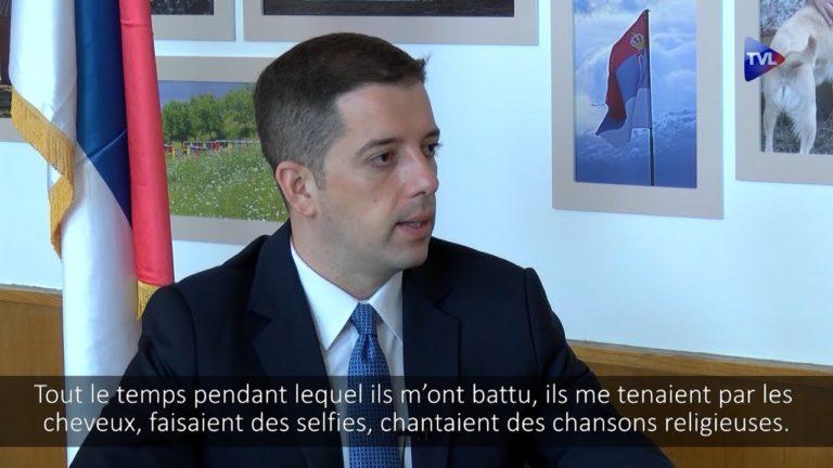 Agressé et battu, le ministre serbe, Marko Djuric, s'exprime sur TVLibertés