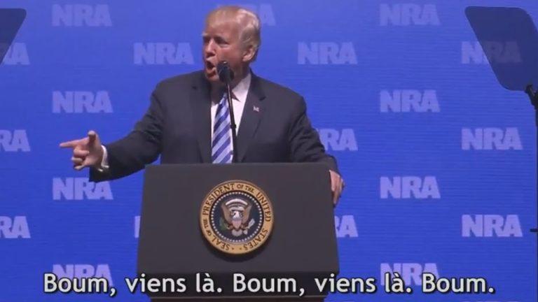 Donald Trump défend le port d'arme en évoquant le Bataclan