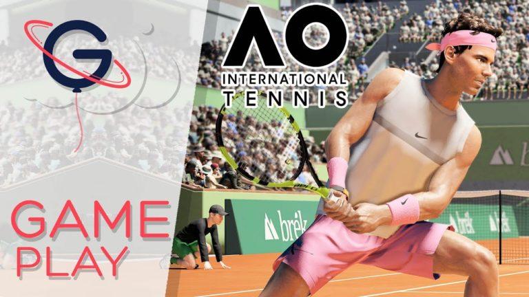 Jeux vidéos. Sortie d'AO International Tennis