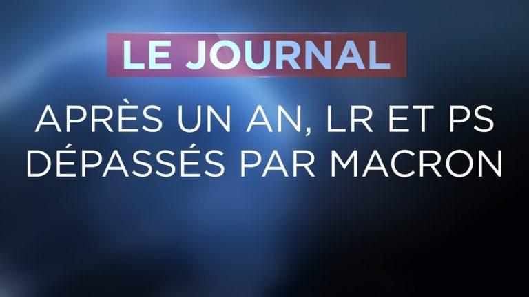 Les Républicains et le PS dépassés par Macron