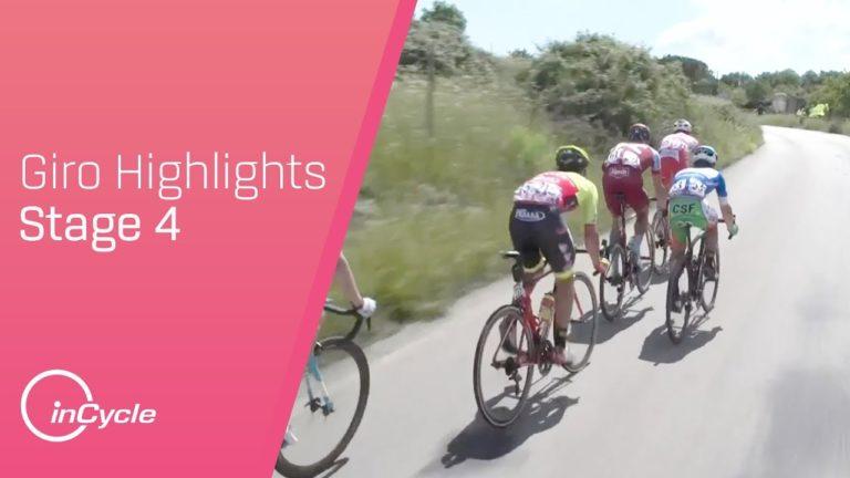 Giro 2018. Le résumé vidéo de la 4ème étape