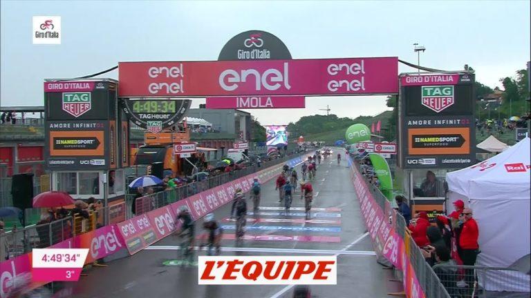 Giro 2018. Victoire de Sam Bennett à Imola, pour la 12ème étape