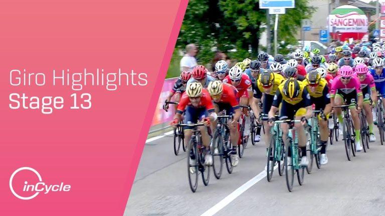 Elia Viviani remporte la 13e étape du Giro au sprint