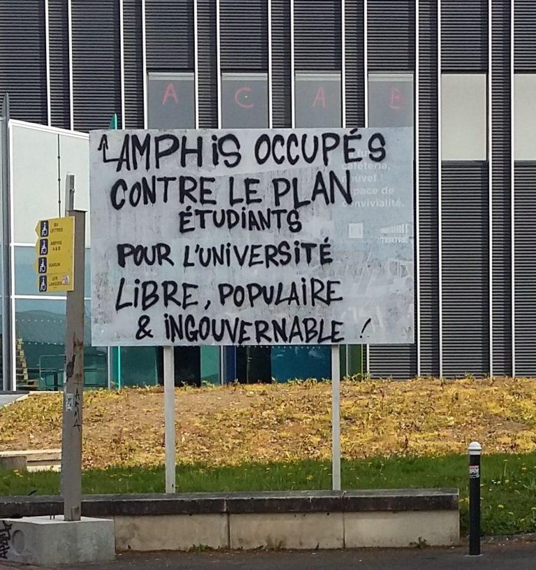 Nantes. Le président de l'université, meilleur ennemi des bloqueurs ?