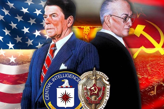 """Résultat de recherche d'images pour """"Reagan et Andropov"""""""