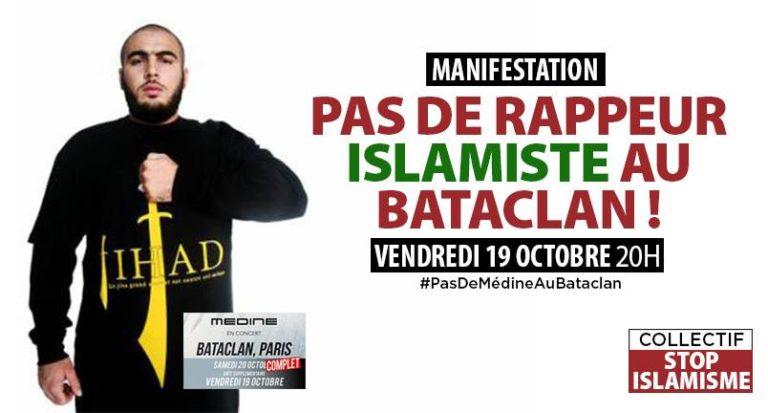 Médine au Bataclan. Damien Rieu : « L'islamisme n'a peut être pas encore assez tué pour intéresser les médias »