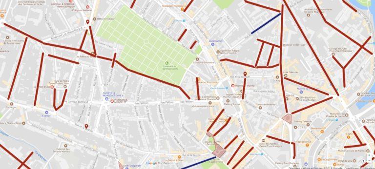 Etat des voiries à Nantes: Bastille, Viarme, Talensac, encore des rues à l'abandon