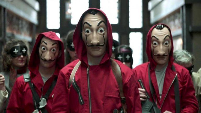 La Casa de papel : une série à voir absolument sur Netflix