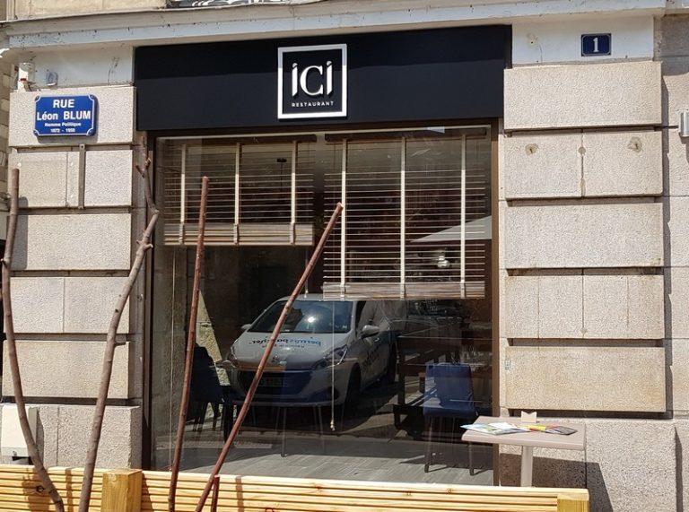 ICI, à Nantes, une nouvelle table  rue Léon Blum